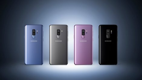 Galaxy S9+ 4colors