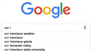 Google autocomplete ни спестява 200 години писане на ден