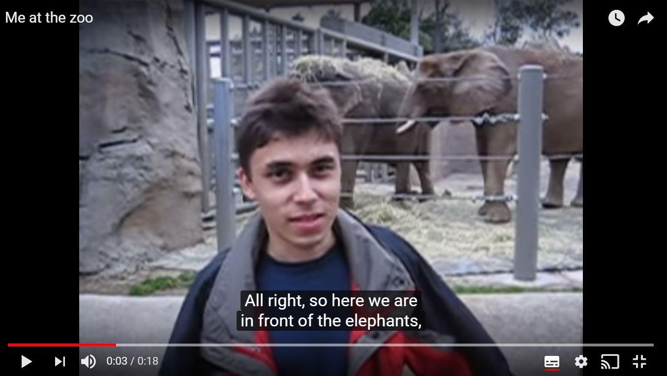 YouTube стана тийнейджър! Вижте първото видео качено преди 13 години