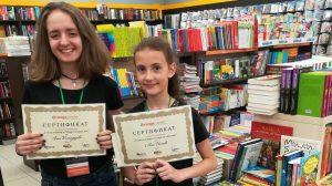 От любов към четенето на 1 юни вземете книжна препоръка от младши книжар в Orange