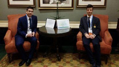 Две специални награди завоюваха българските участници на Intel ISEF