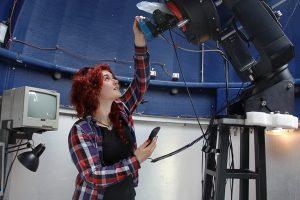 Студентката по физика Христина Илиева събира пари, за да отиде на обучение във Villanova University