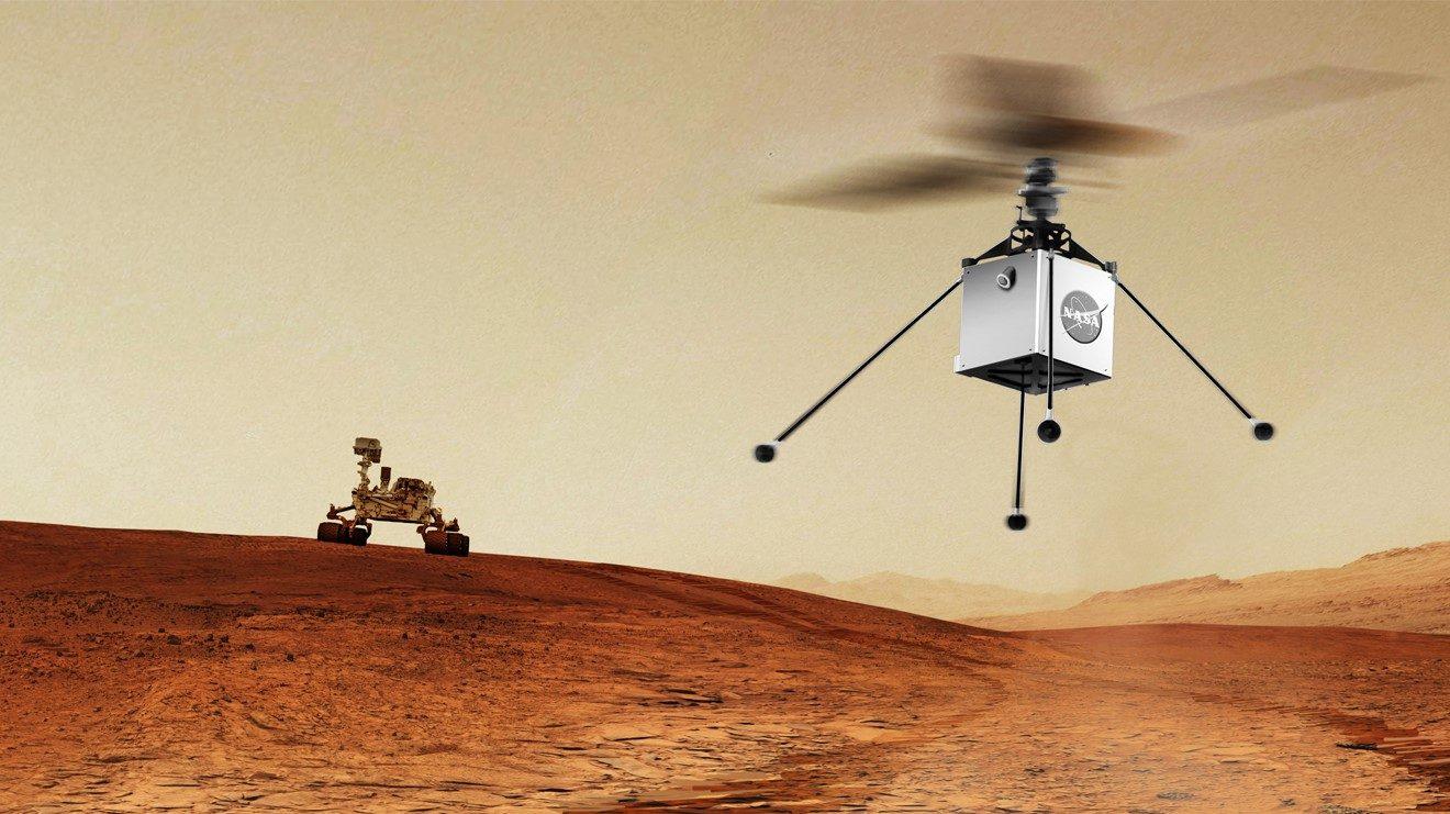 НАСА праща хеликоптер на Марс още през 2020-а [видео]