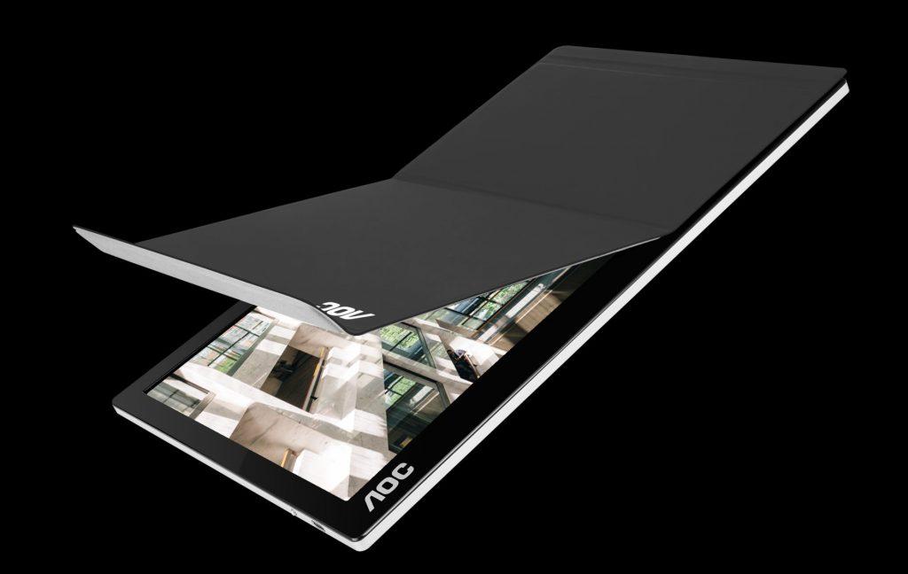 AOC представи портативен 15,6-инчов монитор с USB-C свързване