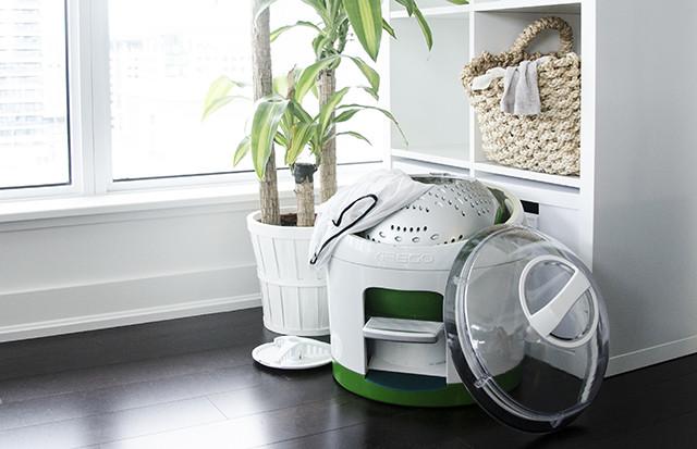 Drumi – мобилна пералня работеща без ток