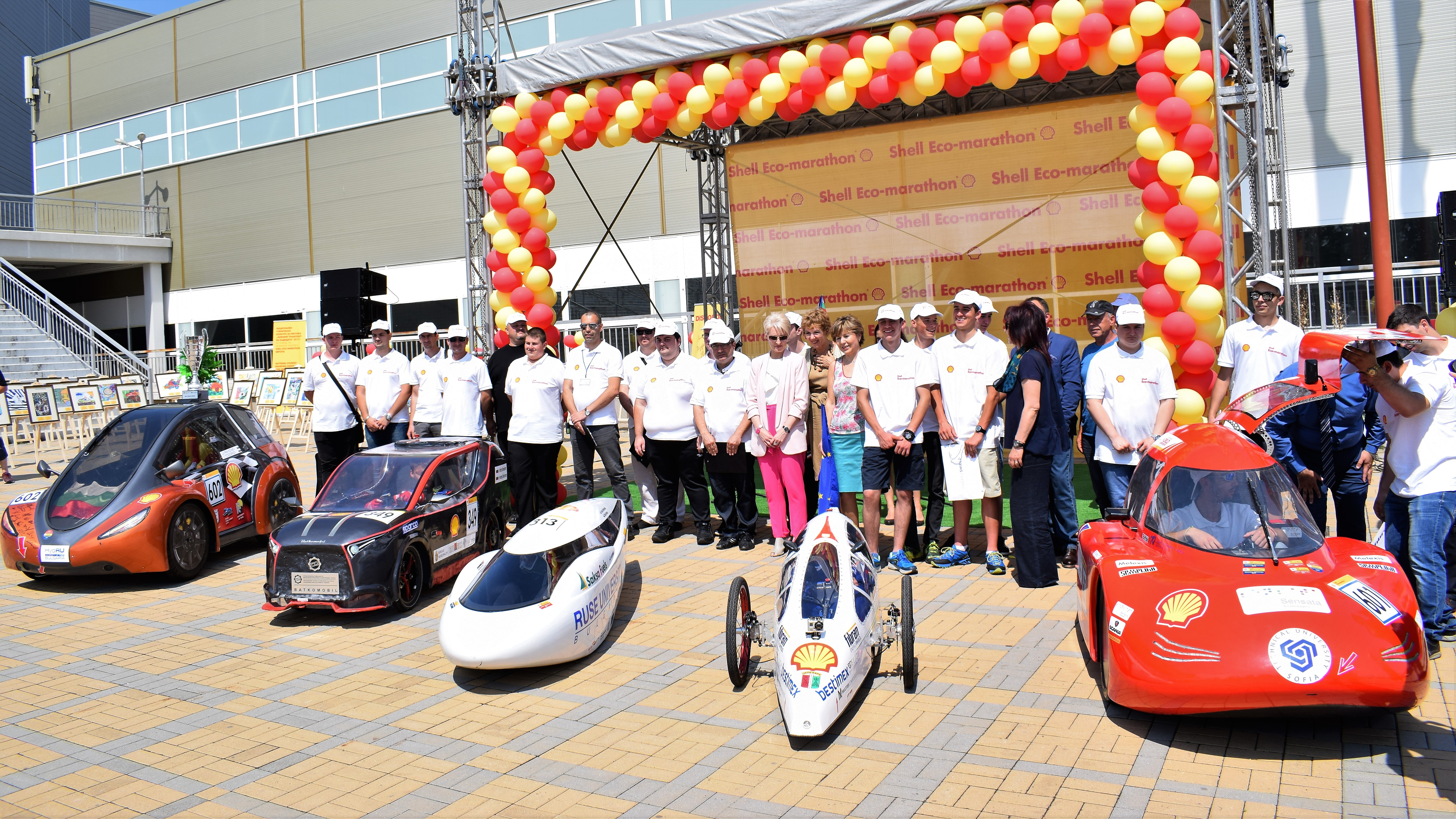 Ето ги българските отбори и техните автомобили за Shell Eco-marathon Европа 2018
