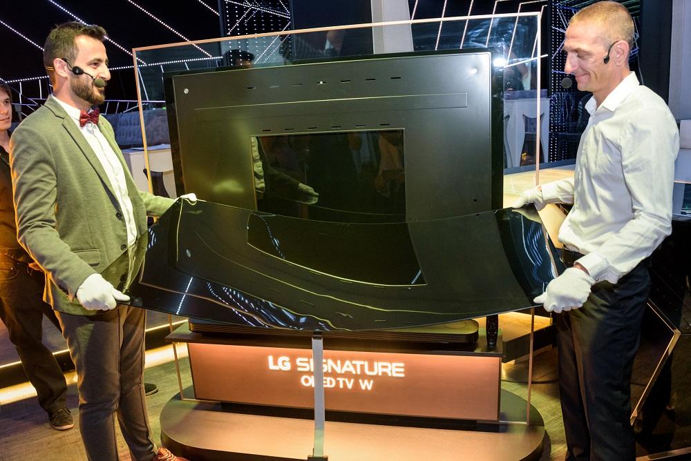 LG представи новите си OLED телевизори в България