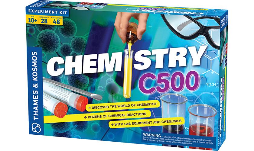 Игра на наука: Магията на химията или как да станем истински химици вкъщи с Thames & Kosmos [част 1]