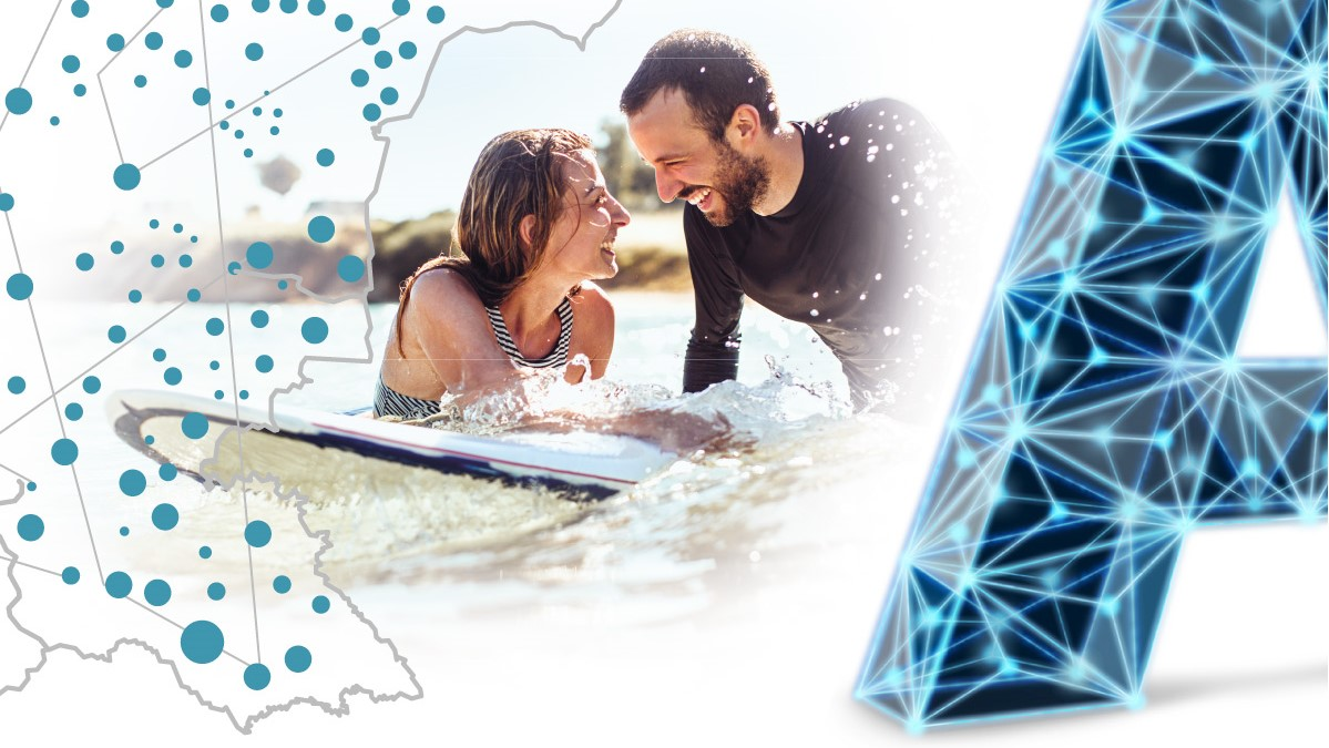 Бързи летни скорости с А1, които пускат 4.5G мрежа в курортите по Черноморието