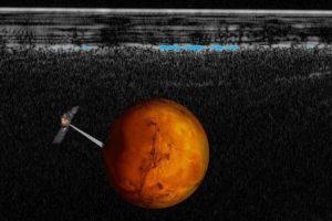 Откриха течна вода на Марс в езеро под ледовете на южния полюс