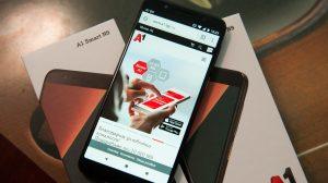 A1 Smart N9 е първият смартфон на телекома А1