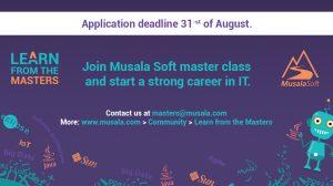 Започна записването за безплатното ИТ обучение от Мусала Софт - LEARN FROM THE MASTERS 2018