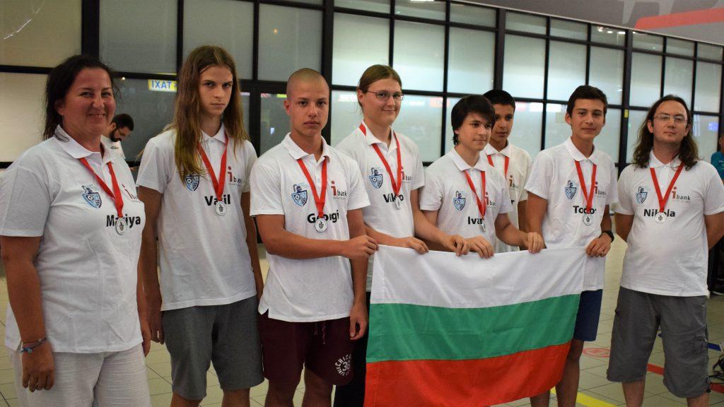 Прибраха се сребърните ни медалисти от Международния турнир на младите естествоизпитатели