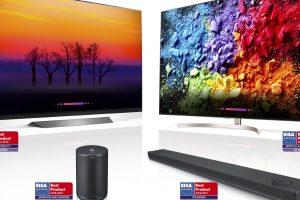 Телевизорите с изкуствен интелект на LG спечелиха награди EISA