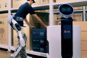 LG ще представи CLOi SuitBot – първият екзоскелет на компанията с изкуствен интелект