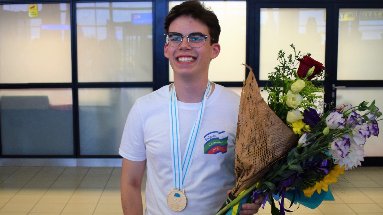 Олимпиецът по химия Петър Христов: Първият златен медал ме изненада, а вторият показа, че не е бил случаен