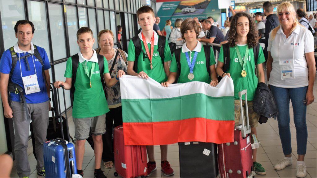 Младите ни информатици се прибраха с 4 медала от Европейската младежка олимпиада – eJOI