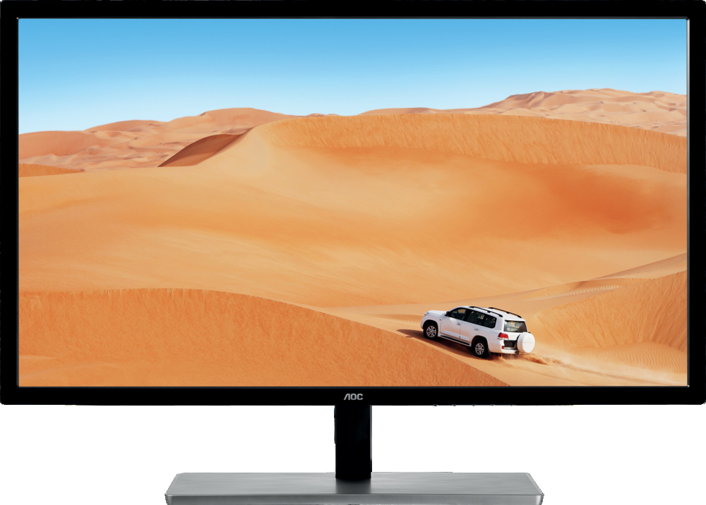 """AOC пусна на пазара огромен 31.5"""" (80.01 см) IPS QHD монитор"""