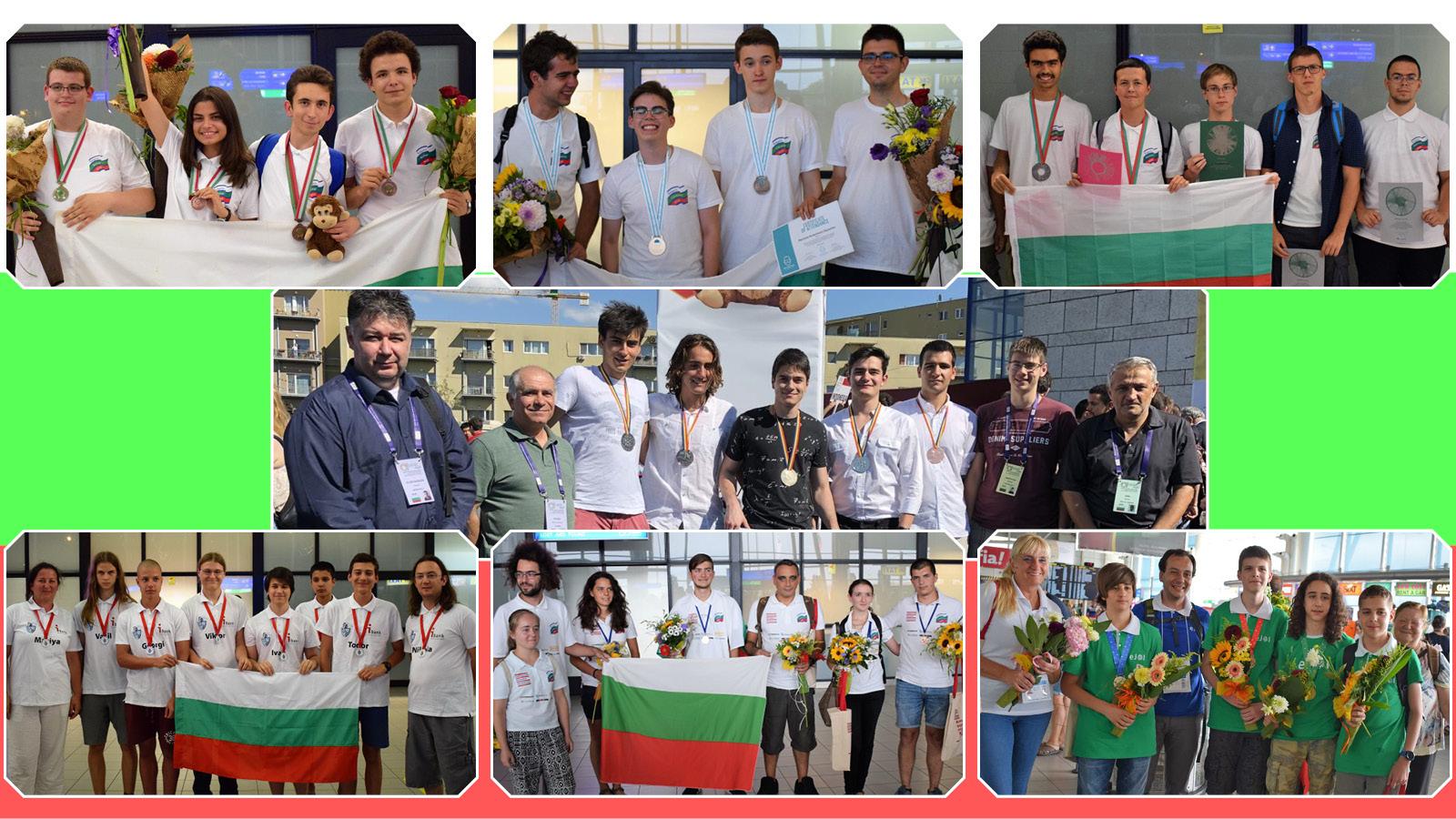 Български гимназисти спечелиха 34 медала от най-силните състезания по природни науки в света (обзор)