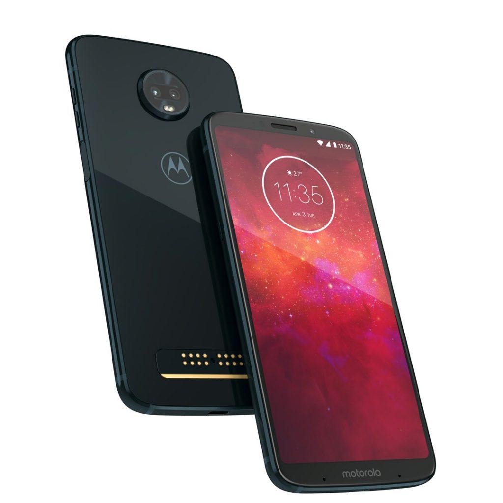 6-инчовият Motorola Moto Z3 Play вече е в магазините на Vivacom