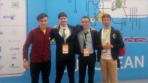 Страхотно представяне и 3 награди за тримата българи на Европейския конкурс за млади учени