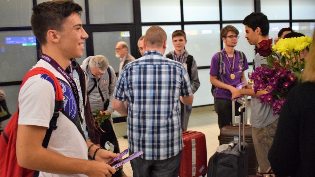 Български ученици донесоха 2 купи и 8 медала от олимпиадата на Метрополисите в Москва