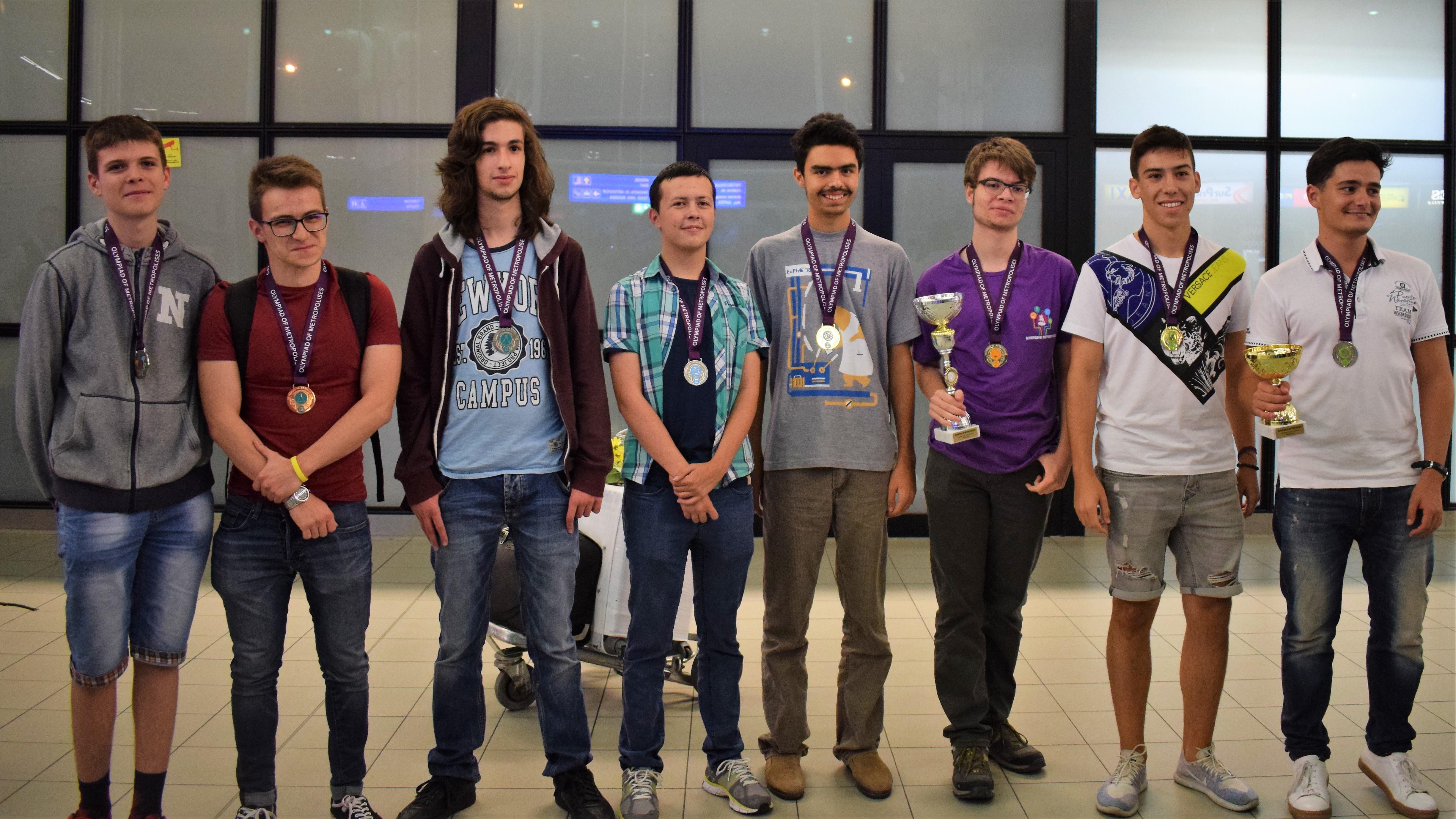 Резултат с изображение за медали от научни олимпиади