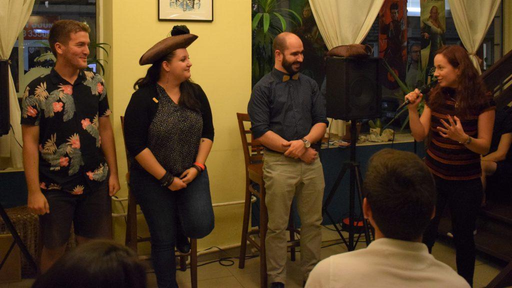 """Експериментът в """"Абордаж"""" е успешен! Трима учени доказаха, че има научна Stand Up комедия"""