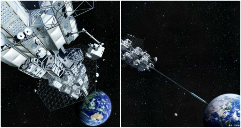 Японски учени тестват възможността за космически асансьор (видео)