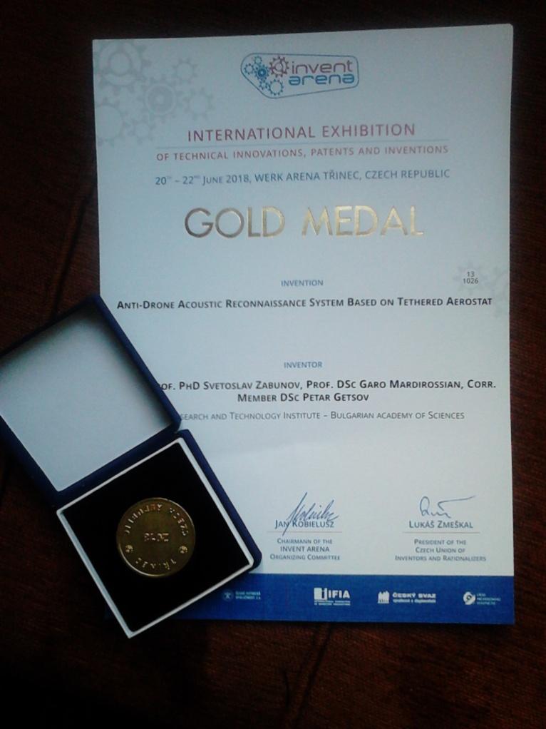 Български учени със златен медал за изобретение на анти-дрон система