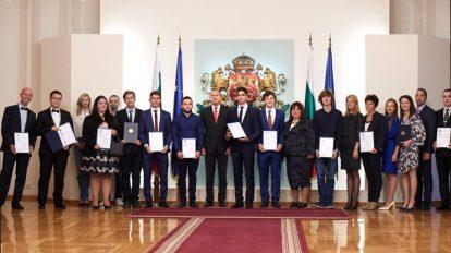 """Президентът връчи наградите за постижения на компютърните науки """"Джон Атанасов"""" за 2018"""