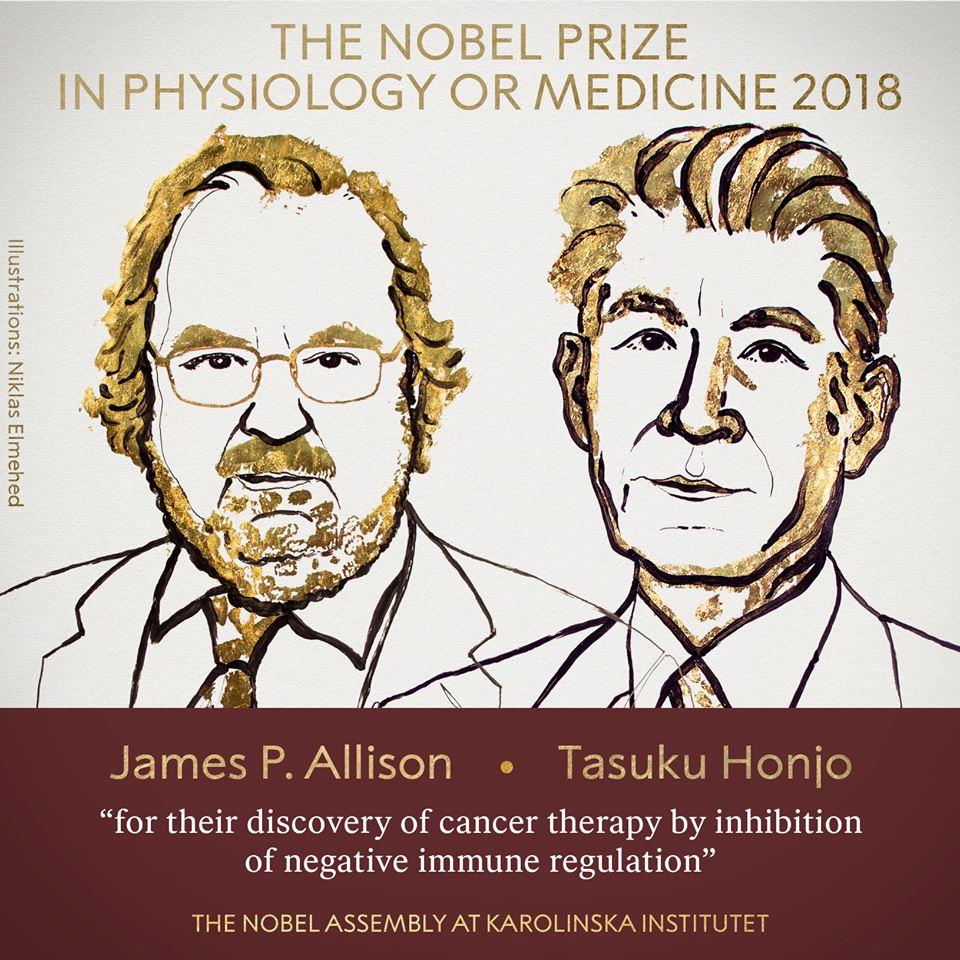 Нобеловата награда за медицина бе присъдена на откривателите на имунотерапията срещу рак (видео)