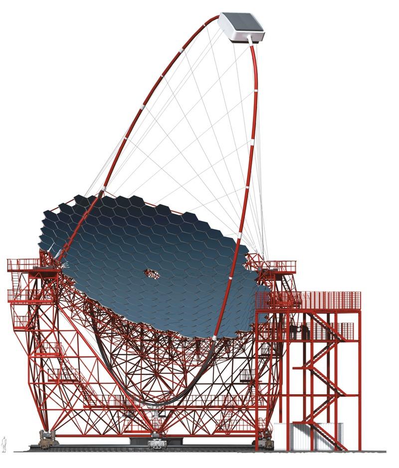 Откриха първия голям телескоп LST-1 за фундаментални научни изследвания в астрофизиката