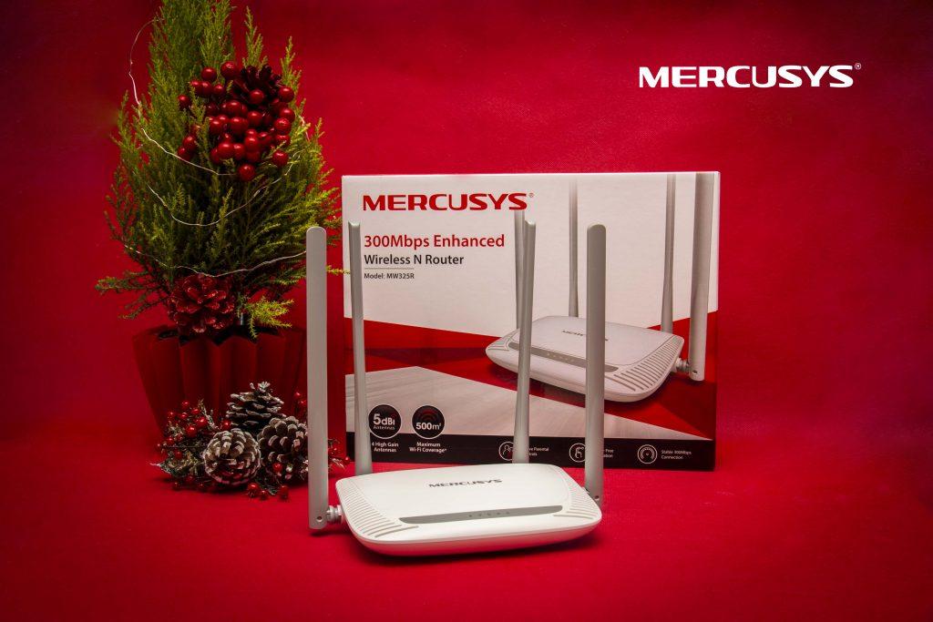 Рутери с много антени, USB адаптери и усилватели на сигнала на атрактивни цени с марката Mercusys