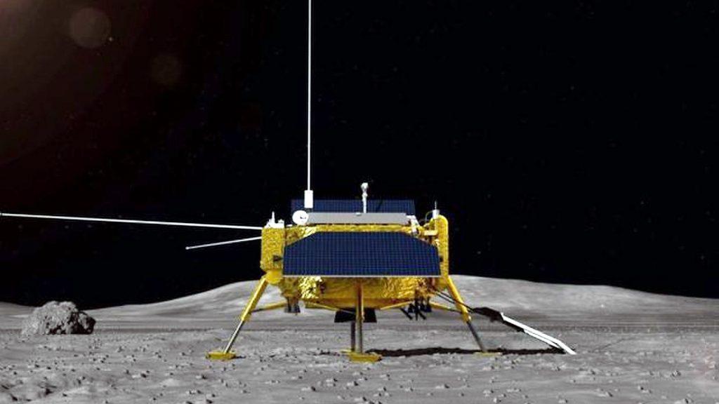 Китай изстреля мисията Chang'e 4, която ще кацне на обратната страна на Луната и ще отглежда растения