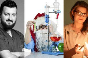 """Двама учени разкриват тайните на Дядо Коледа в една научна комедия на борда на """"Абордаж"""""""