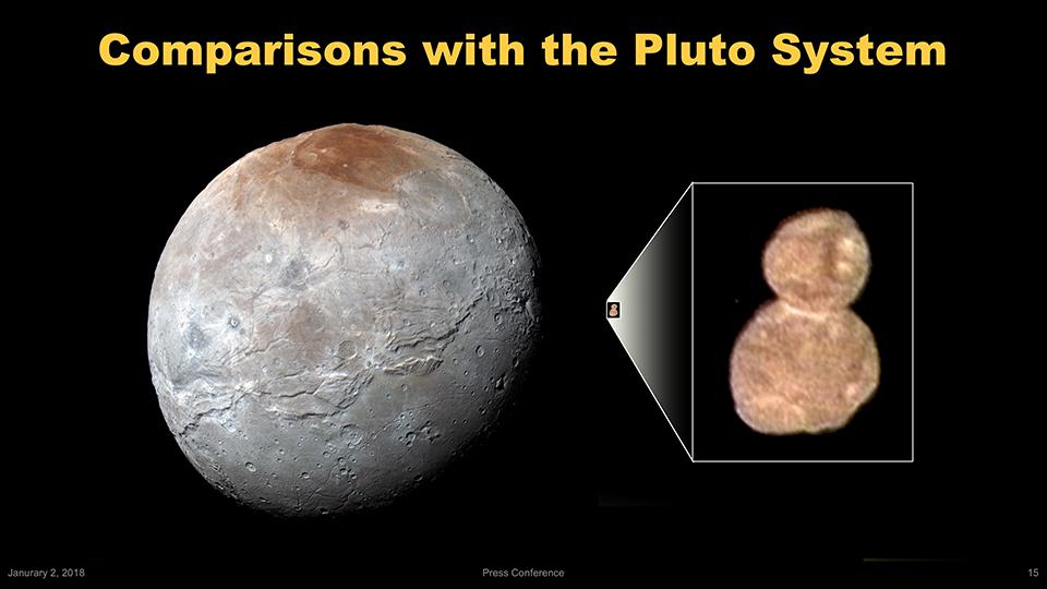 Първите снимки на Ultima Thule разкриват част от историята на Слънчевата система