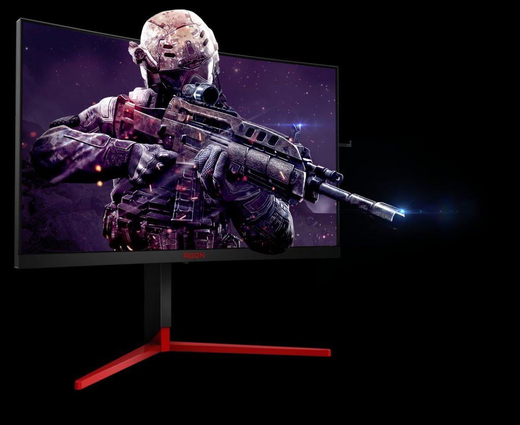 AOC пуска супербързите извити геймърски монитори от серията AGON 3
