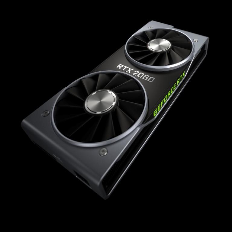 NVIDIA пуска новата мощна видеокарта GeForce RTX 2060 за гейминг от следващо поколение