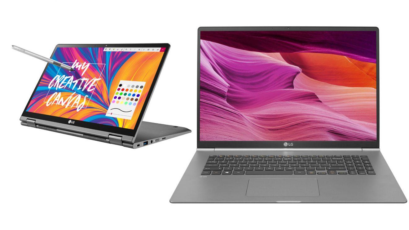 LG представя два нови лаптопа от серията LG gram на изложението CES 2019