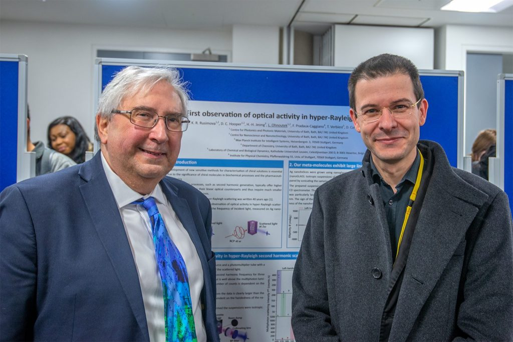 Българският учен д-р Венцислав Вълев демонстрира физичен ефект, изследван 40 години