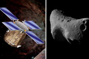 Преди 18 години космическата сонда NEAR Shoemaker кацна на астероида Eros