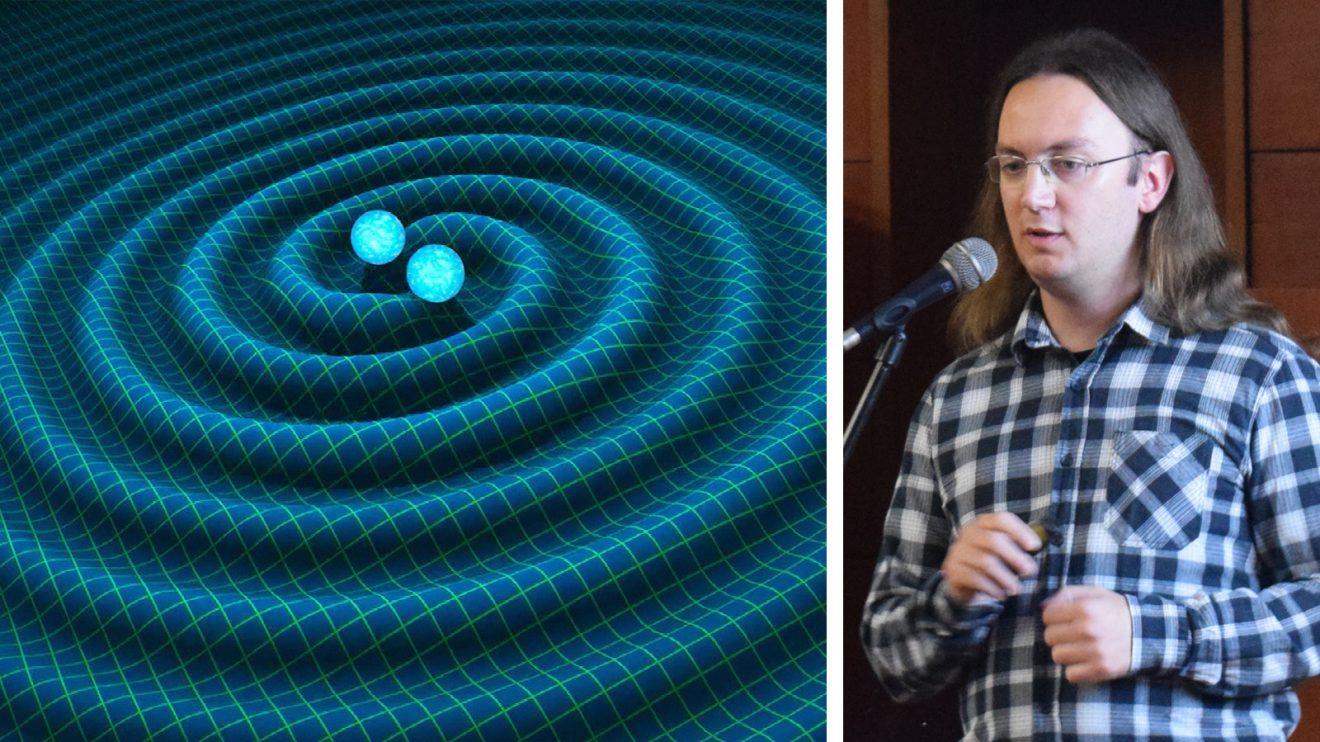 На 7 февруари в Кръжока по астрономия Никола Каравасилев ще ни разкаже за гравитационните вълни