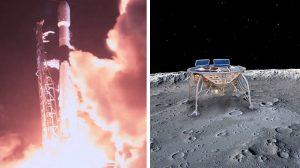 SpaceX успешно изстреля Beresheet - първият частен космически апарат, който ще кацне на Луната (видео)