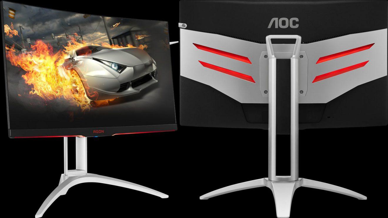AOC представи нов 68 -сантиметров извит геймърски монитор - AGON AG272FCX6