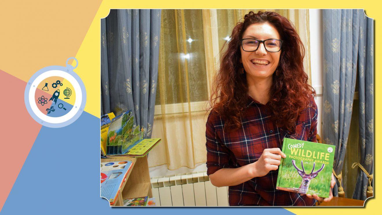 Izzi Science for Kids представя своите учители - лъчезарната Албена Качамакова