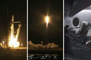 SpaceX успешно изстреля космическия кораб Crew Dragon към МКС (видео)