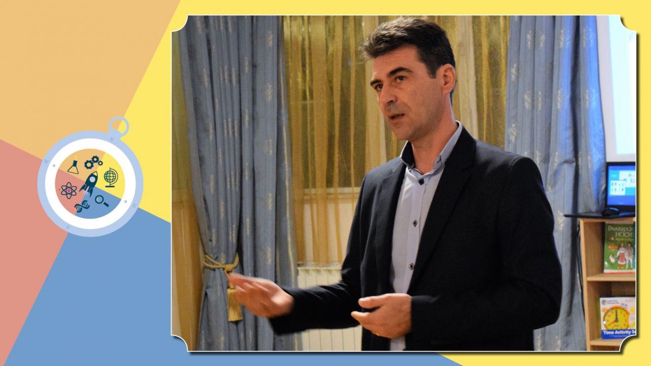 Директорът на Izzi Science for Kids Станислав Богданов: Училището ще расте заедно с учениците ни