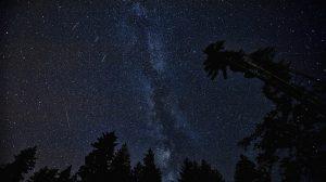 През нощите на 22 и 23 април е максимумът на метеорния поток Лириди