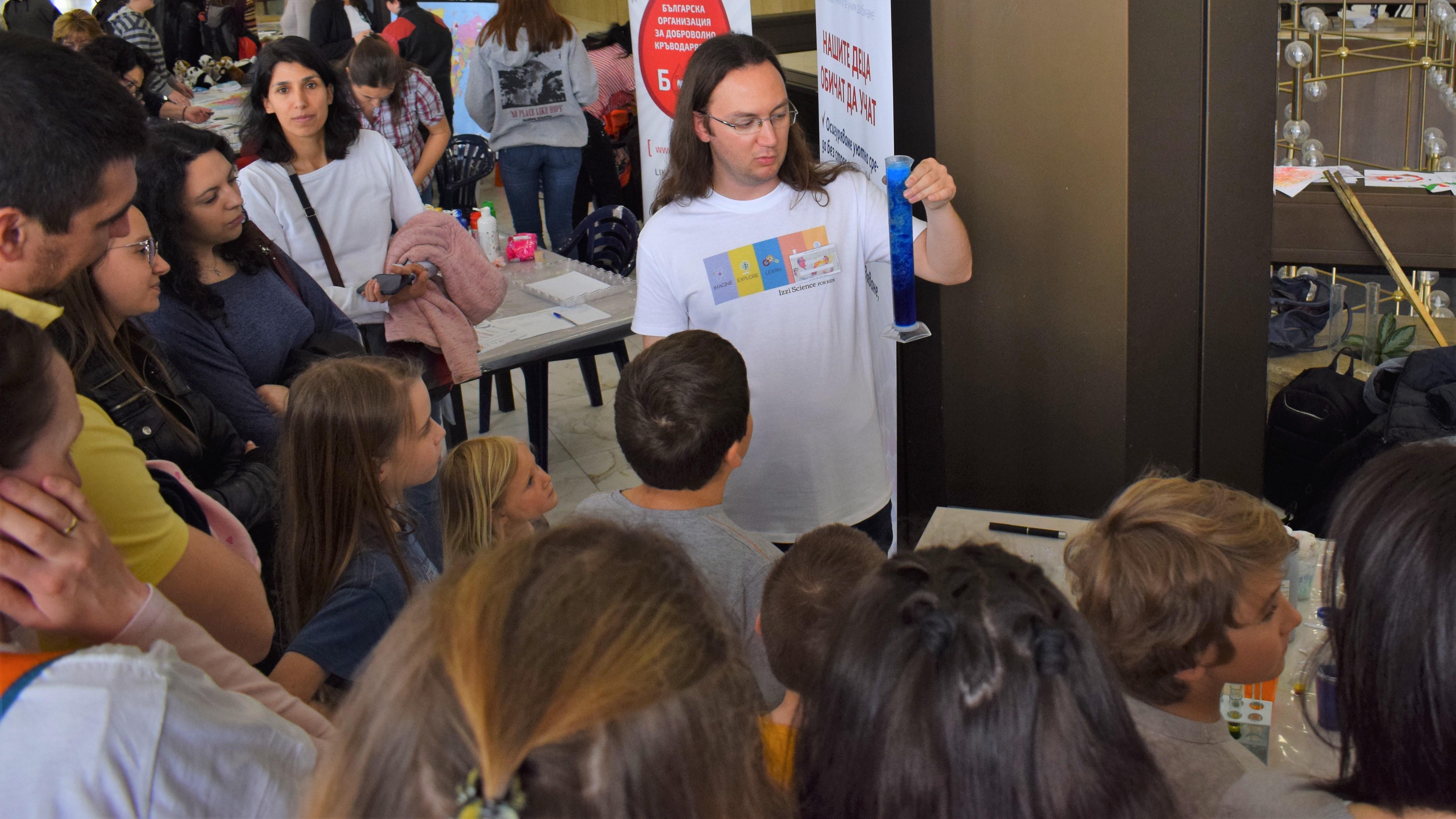 За два дни хиляди посетители станаха част от Пролетния фестивал на науката в НДК